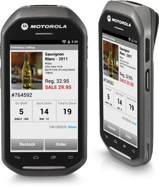 Motorola Zebra MC40 Enterprise Mobility Terminal product image