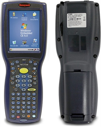 Honeywell Tecton rugged hand held mobile terminal product image
