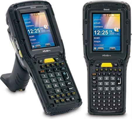 Motorola Psion Omnii XT15 Rugged Handheld RF Terminal product image