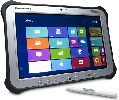 Panasonic Toughpad FZ-G1 Rugged Interprise Tablet product image