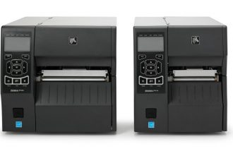Zebra ZT400 Series Advanced Industrial Printer product image