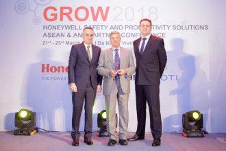 Dematic Honeywell Top Revenue Performing Partner 2017