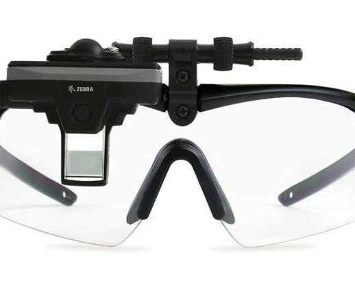 Dematic Real-Time Logistics Zebra HD4000 Head-Mounted Display for Vision Picking Systems